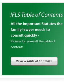 IFLS Table of Contents